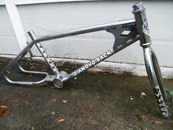 BMXmuseum com For Sale / 1983 Diamondback Viper Frame & Fork