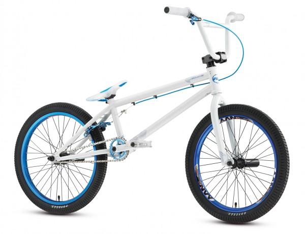 BMXmuseum.com For Sale / Redline 2011 Covet White / Blue Freestyle ...