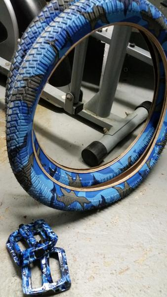 How To Buy Tires >> BMXmuseum.com For Sale / Sweetskinz nightwing camo ...