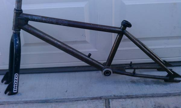 BMXmuseum.com For Sale / s&m dirt bike classic frame and fork