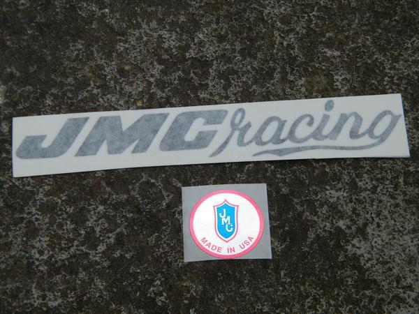 BMXmuseum com For Sale / New JMC Racing BMX Handle Bar Decal