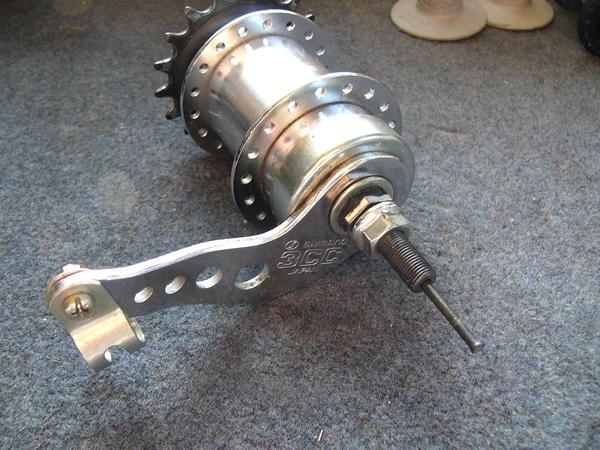 BMXmuseum.com For Sale / shimano 3CC 3 speed coaster brake