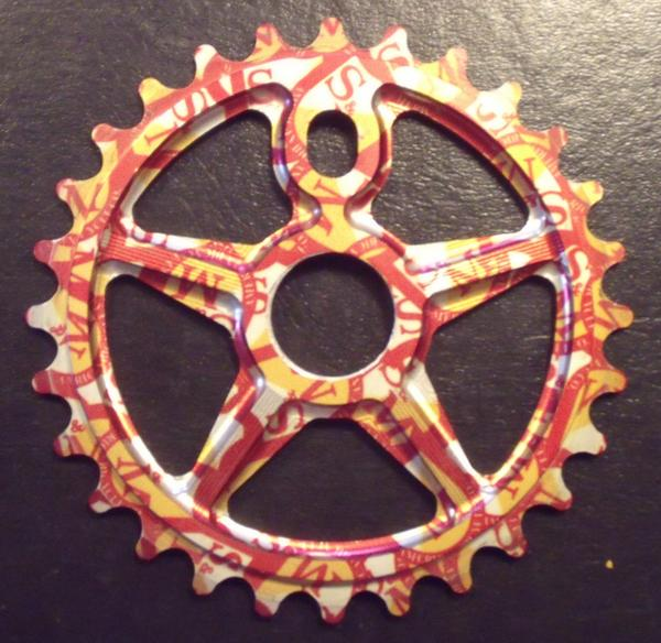 S/&M BMX Sprocket Tuffman 7075 30T Shield Wrap