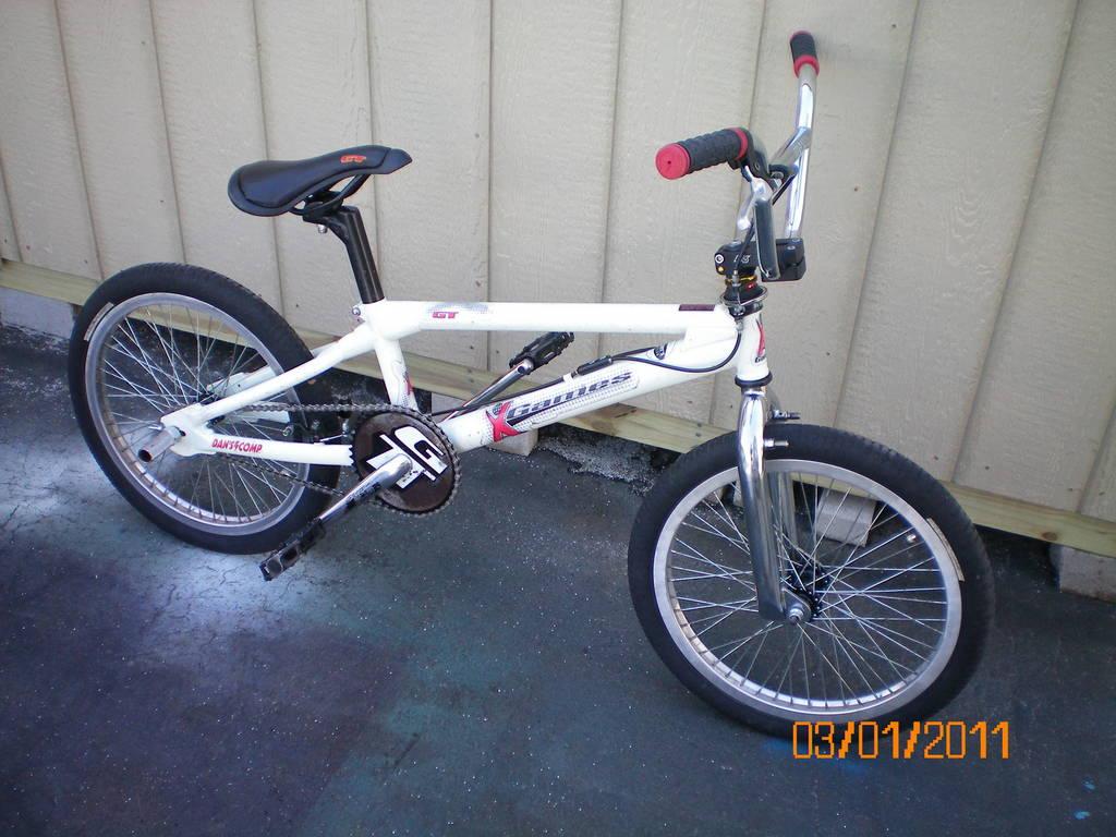 X Games Bmx Bike 1999 GT X-Games