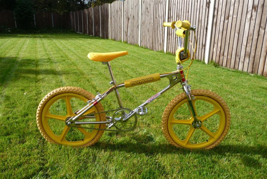 White Bmx Bike Frame