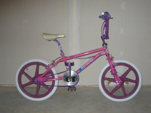 1987 Gt Pro Freestyle Tour Team Model Dayglow Pink Bmxmuseum