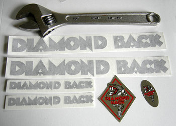 Stickers Diamondback Rubon set BLACK