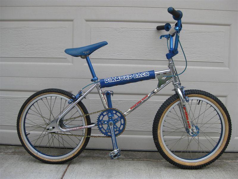 BMXmuseum.com For Sale / 1980s Diamond Back II Silver Streak clean ...