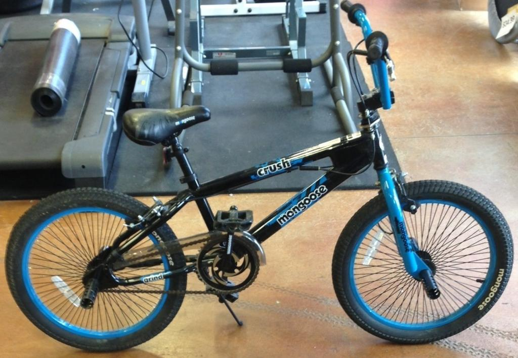 Mongoose bmx bike black