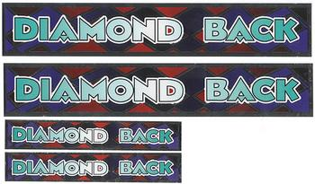 Stickers, Diamond Back, Fade