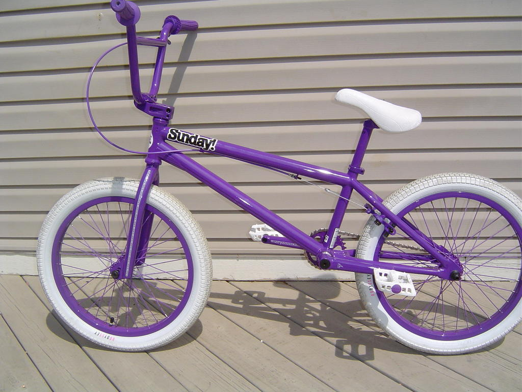 Pro Bmx Bikes Purple