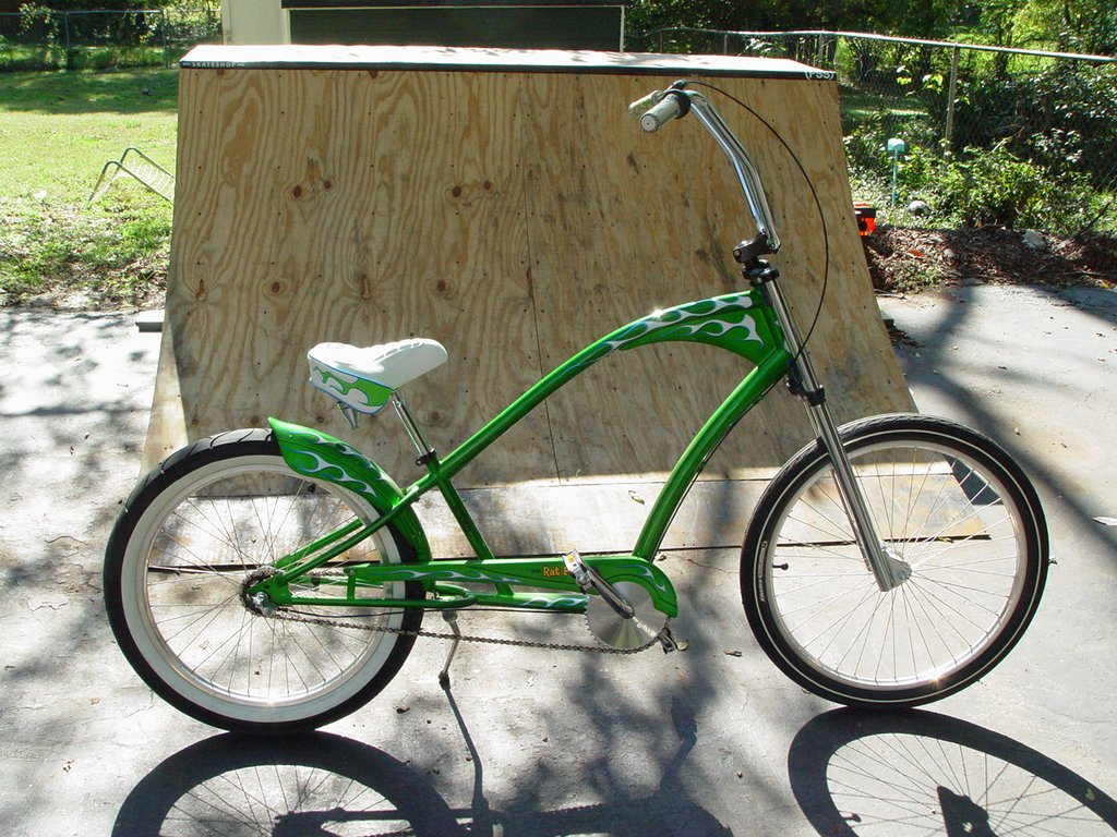 Rat Fink Motorcycle http://bmxmuseum.com/bikes/unknown/18785