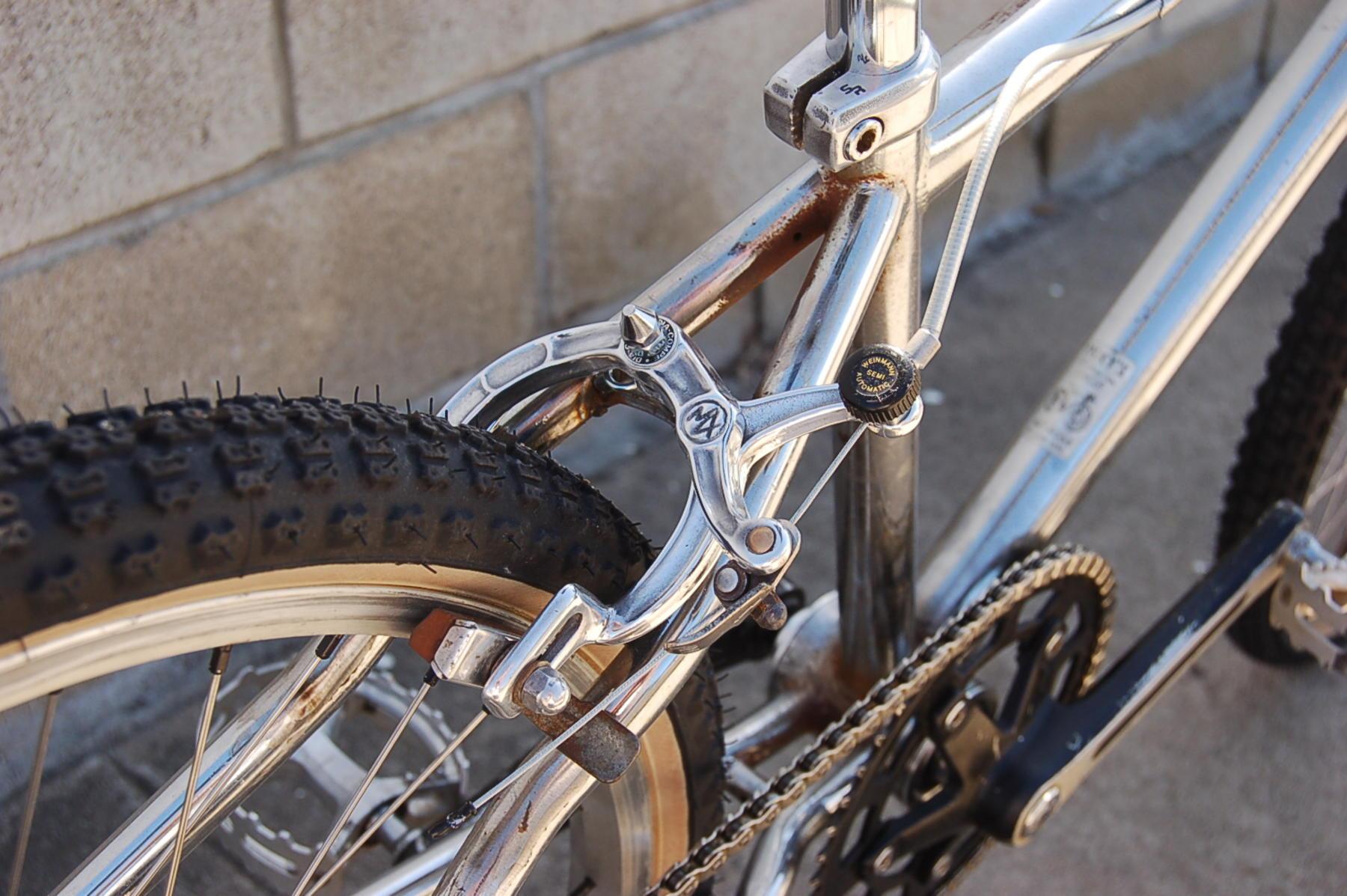vintage cantilever brake bosses for frame building