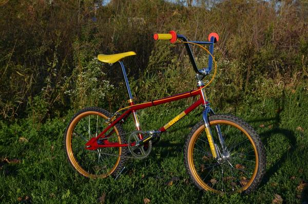 NOS 80/'s GHP Pro II frame and frok decals