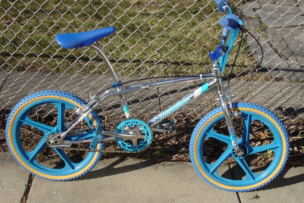 Bikes Mag Capone s FST w blue mags