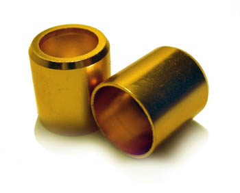 Alloy valve STEM not CAP cover in GOLD