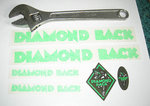 Stickers Diamondback Rubon set GREEN cover