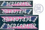 Sticker set, GT Pro Performer, CHROME cover