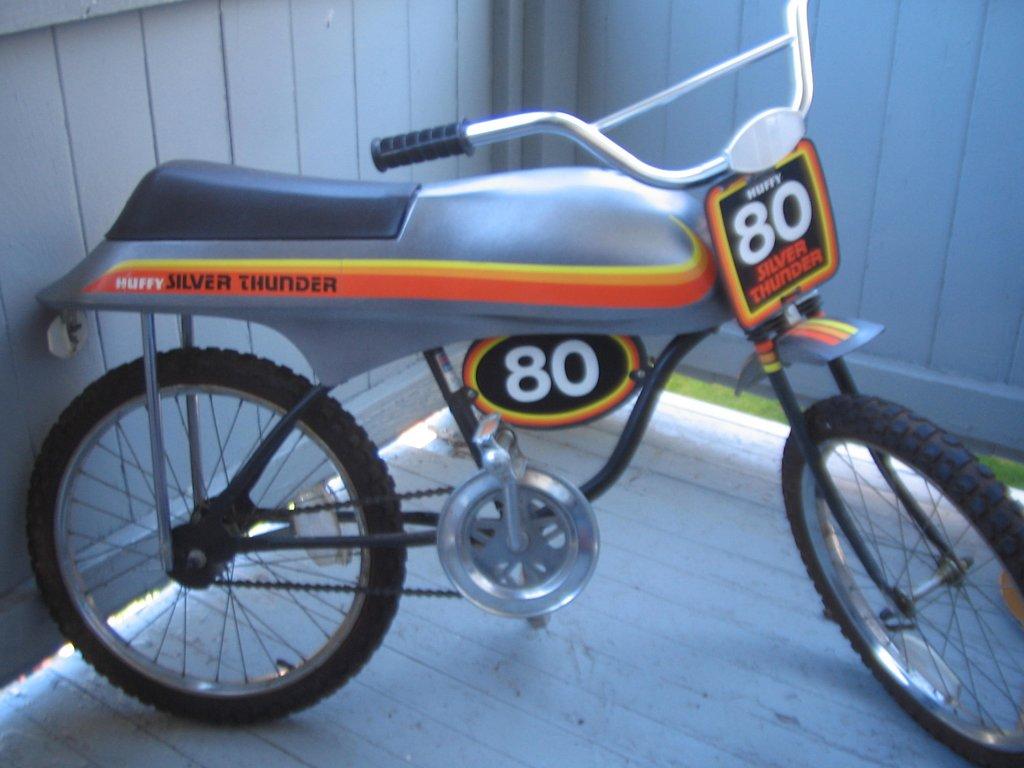 Coaster Brake Bike >> 1978 Huffy Silver Thunder 80 - BMXmuseum.com