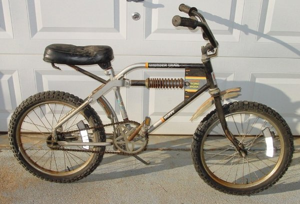 1977 Huffy Thunder Trail Mono Shock Bmxmuseumcom