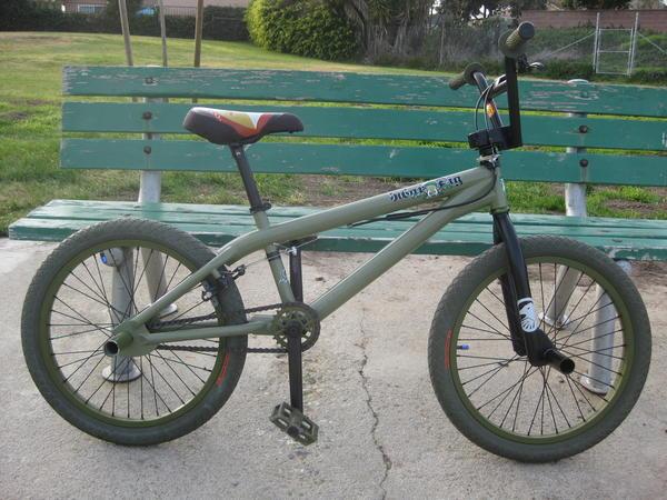 Shadow Conspiracy Stun BMX Rim Olive Green BMX Bike Rim