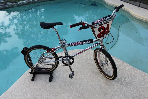 JMC BMX Chrome BICYCLE HEAD STICKER DECALS for Christmas