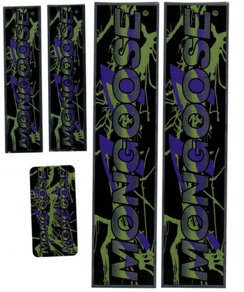 Sticker Set, Mongoose Chrome/PURPLE