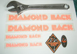 Stickers Diamondback Rubon set Orange cover