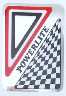 powerlite headtube sticker