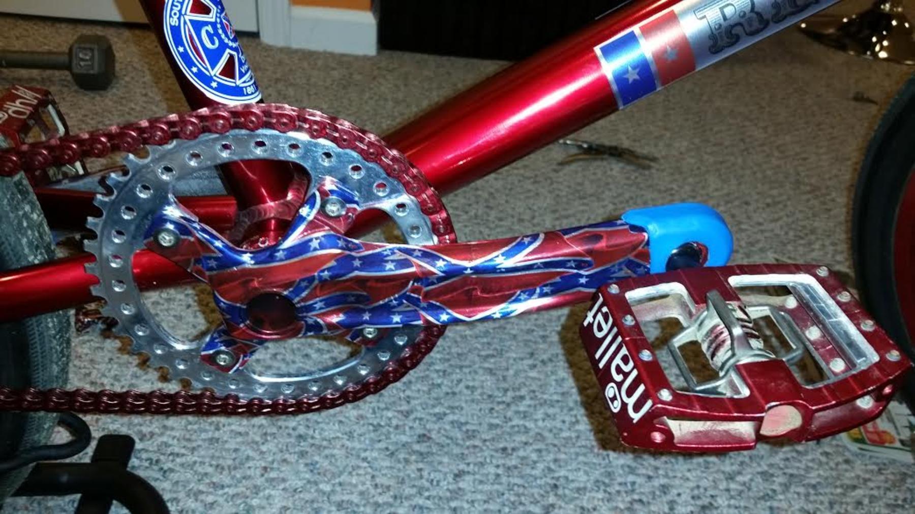 2011 Rebel Racing Confederate Edition Pro Xl Bmxmuseum Com