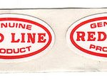 little redline oval stickers