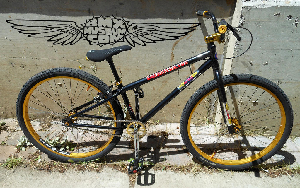 Bike Check: GT Interceptor Prototype BMX Bike, Remo Dyson