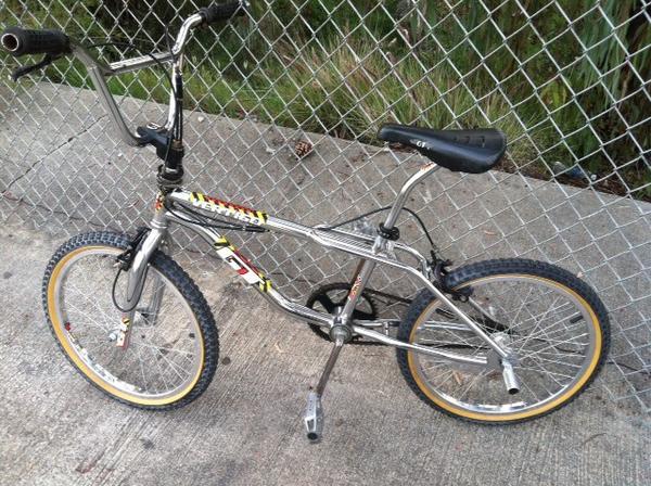 Gt vertigo 1990s hazzard freestyle bmx bicycle decals