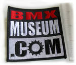 BMXmuseum Square Patch cover
