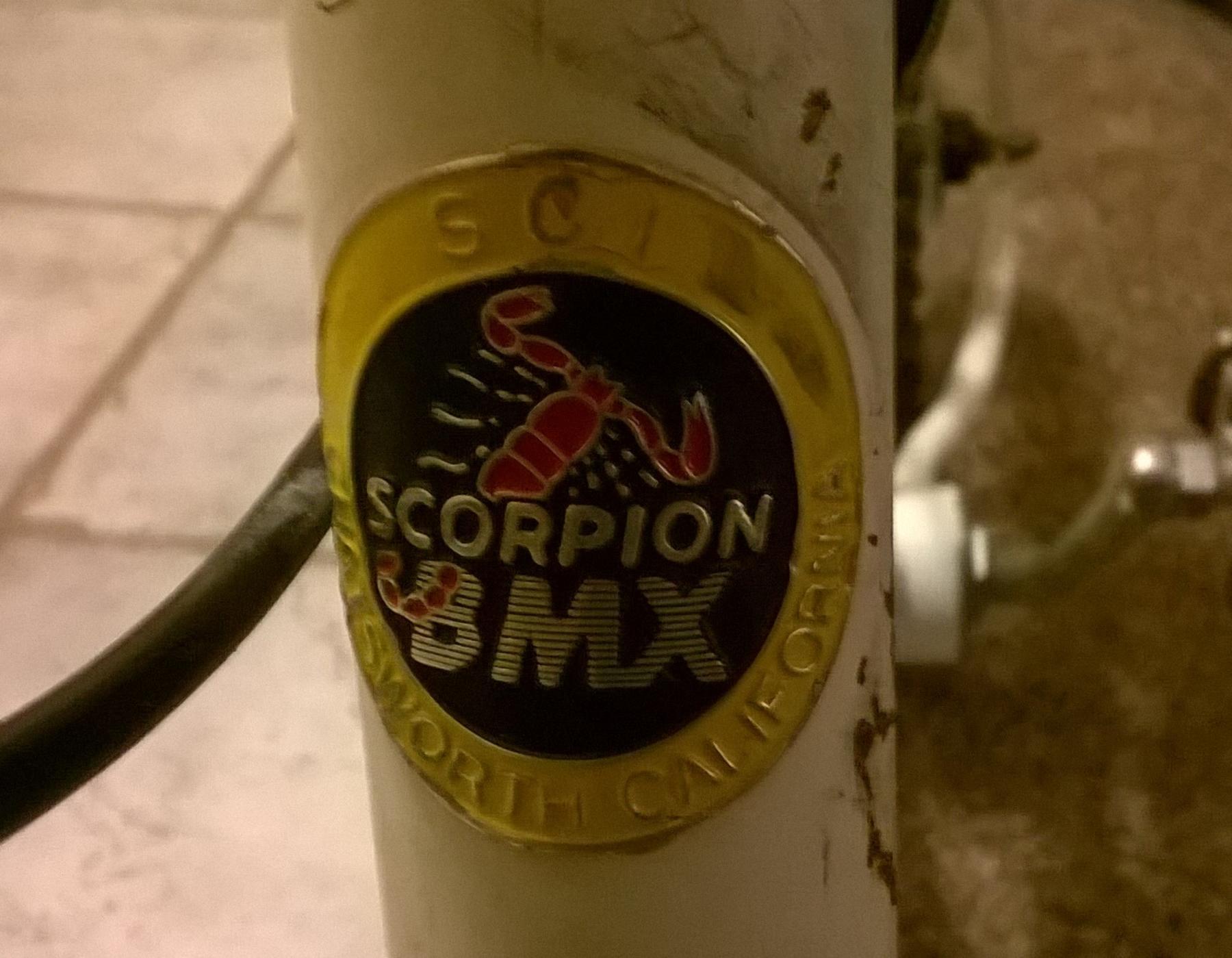 Scorpion zx300 bmx decals