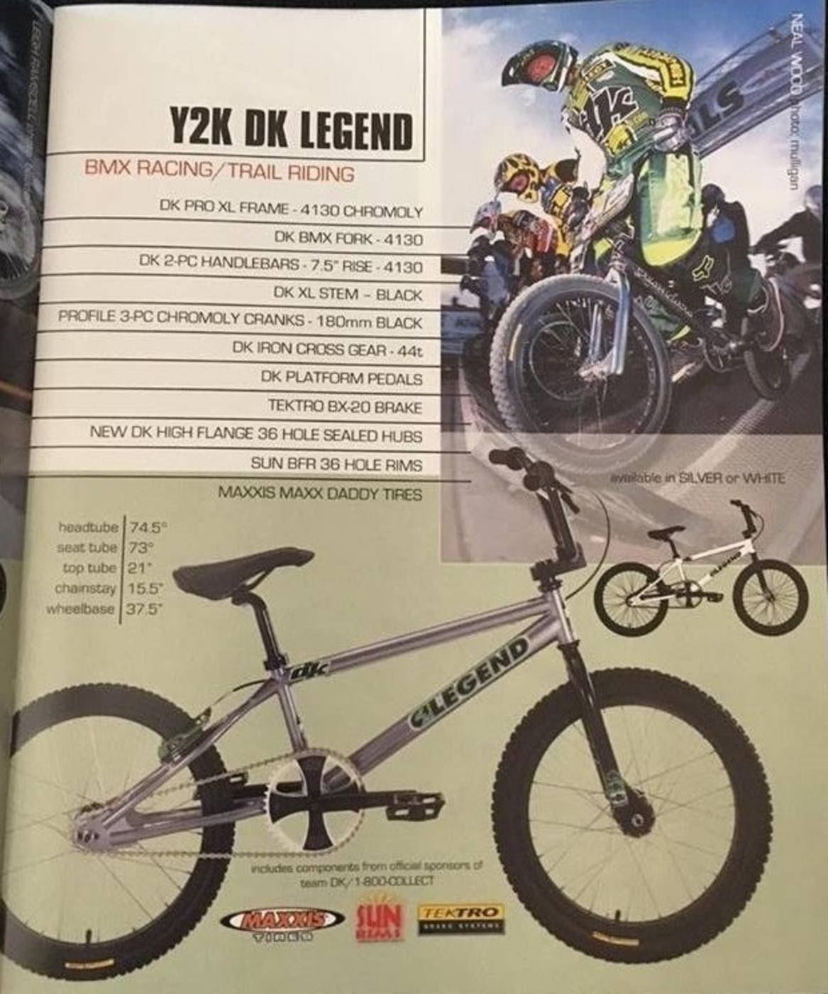 BMXmuseum.com Reference / 2000 DK Legend