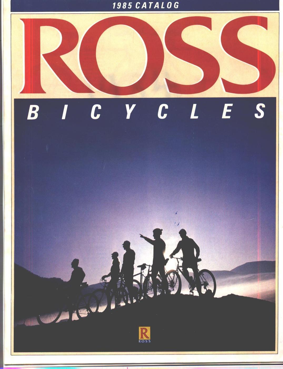 BMXmuseum com Reference / 1985 Ross Bicycles Catalog