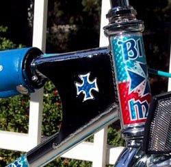 blue max bmx gussett