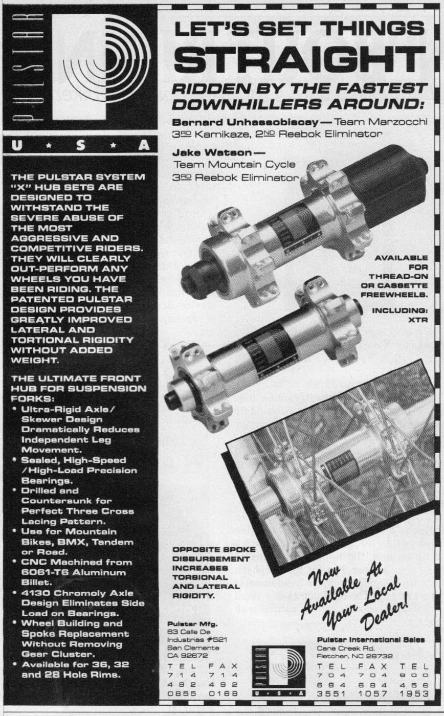 BMXmuseum com Reference / Pulstar System