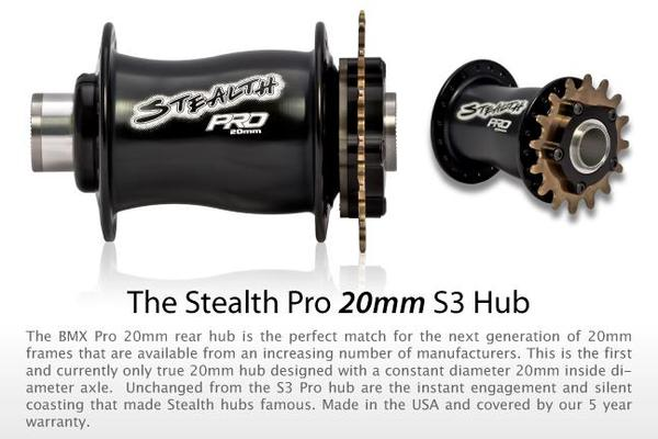 BMXmuseum com Reference / Stealth Pro 20mm S3